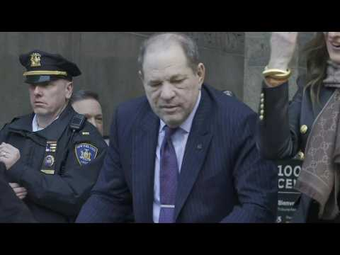 Harvey Weinstein leaves court as jury ends day two deliberations