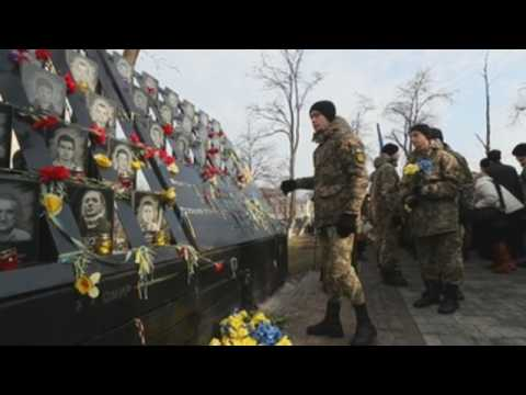 Ukraine marks 6th anniversary of Euromaidan revolution