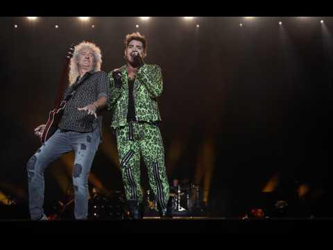 Adam Lambert feels 'lucky' to 'celebrate' Freddie Mercury