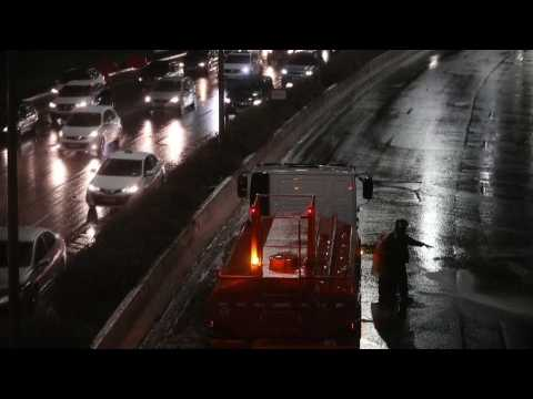 New storm causes floods and traffic cuts in Sao Paulo