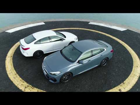 The first-ever BMW M235i xDrive Gran Coupe and BMW 220d Gran Coupe Trailer