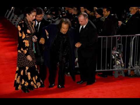 Al Pacino suffers fall on BAFTAs red carpet