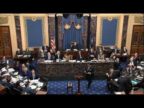 Trump impeachment trial: Senate acquits US president on both charges