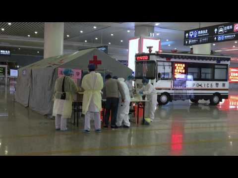 Lock down in Chinese city far from epicentre of SARS-like virus