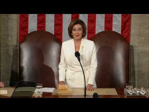 US: Pelosi calls House to order before Trump's State of the Union speech