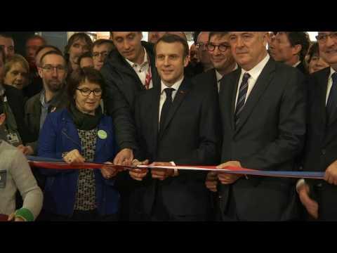 Emmanuel Macron inaugurates the 57th Paris International Agricultural Show (2)