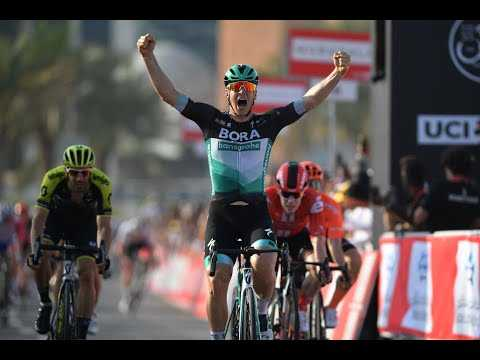 2020 UAE Tour stage 1 - Pascal Ackermann wins the sprint