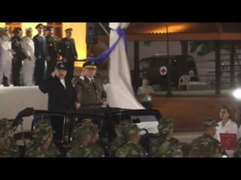 Nicaragua's General Aviles begins 3rd consecutive term as Army chief