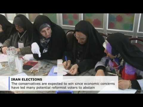 Iran votes for new Parliament which could favour conservatives