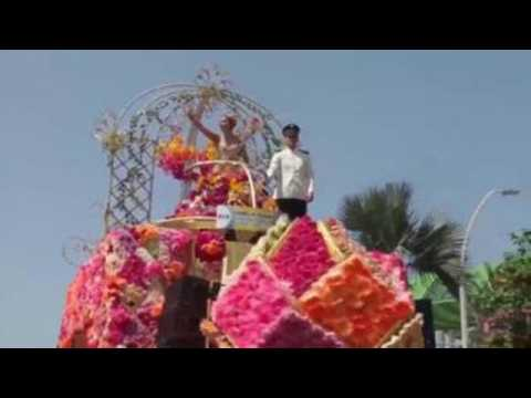 Barranquilla Carnival kicks off with Battle of Flowers