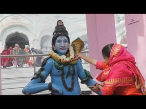 Hindus celebrate Mahashivratri in South Asia