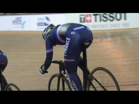 French track cyclists gear up for World Championships