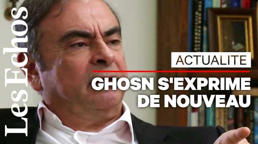 Illustration pour la vidéo Ghosn affirme avoir été informé que « Nissan se retournait » contre lui