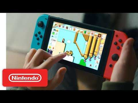 Nintendo Switch My Way - Super Mario Maker 2