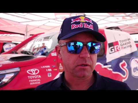 2020 Dakar Rally Stage 7 - Giniel de Villiers