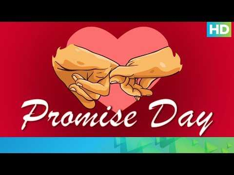 Week of Love   A Day To Make Promises