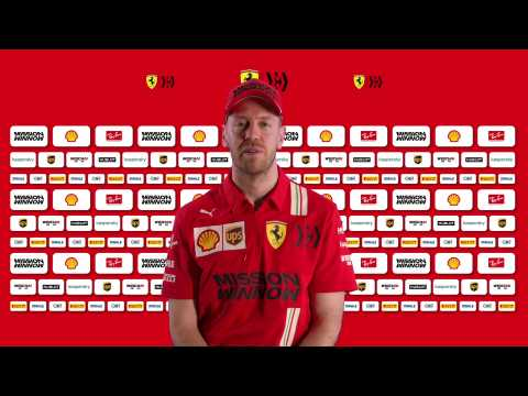 F1 Ferrari SF1000 - Interview with Sebastian Vettel