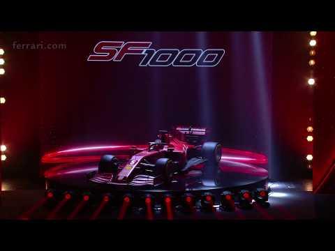 F1 Ferrari SF1000 launched in Reggio Emilia Highlights