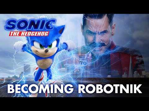 Sonic The Hedgehog | Becoming Robotnik Featurette | Paramount Pictures UK