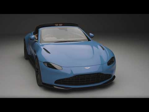 Aston Martin Vantage Roadster Design in Studio