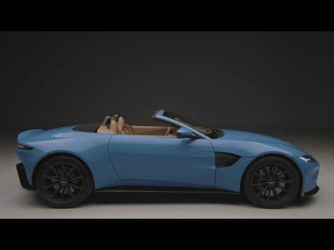 Aston Martin Vantage Roadster Exterior Design in Studio