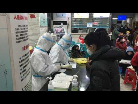 China virus death toll nears 1,400