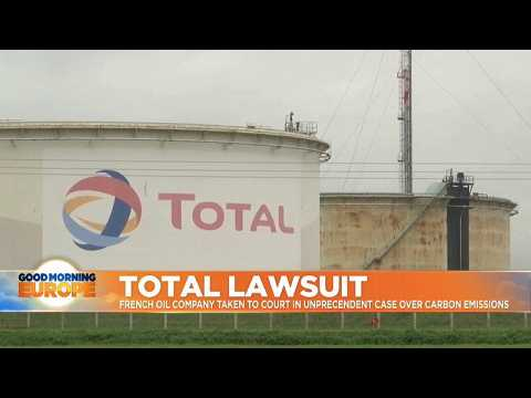 French oil company Total in court in landmark case over greenhouse emissions