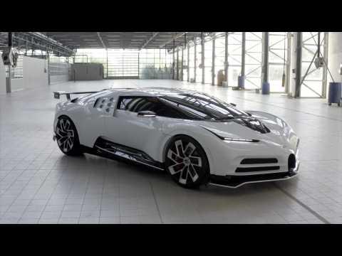 The new Bugatti Centodieci Design