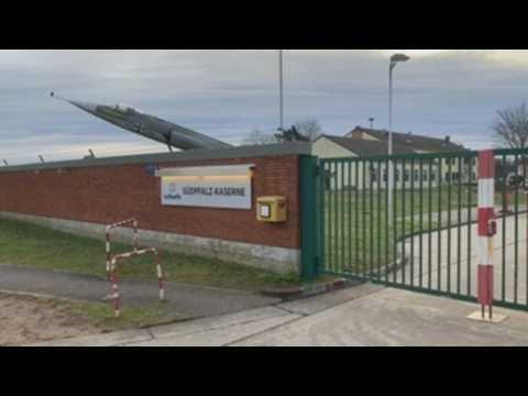 Germans leave quarantine at Suedpfalz military base
