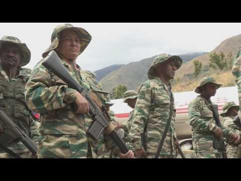 "Military exercises to ""defend the cities"" begin in Venezuela"