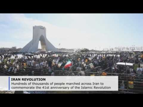 Iran marks Islamic Revolution anniversary with added anti-US fervor
