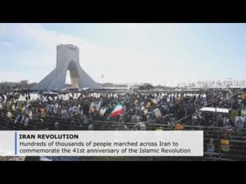 Iran marks Islamic Revolution anniversary with added anti-US fervor