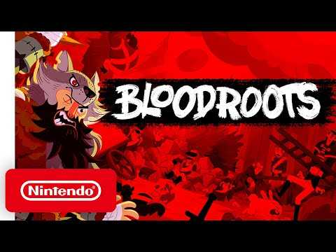 Bloodroots - Launch Trailer - Nintendo Switch