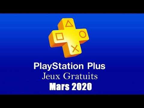 PlayStation Plus Free Games - March 2020