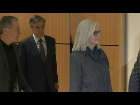 Former French PM Francois Fillon back in court as fake-jobs fraud trial begins