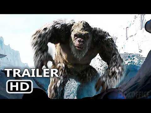 "GODZILLA VS KONG ""Kong in the Snow"" Trailer (NEW, 2021)"