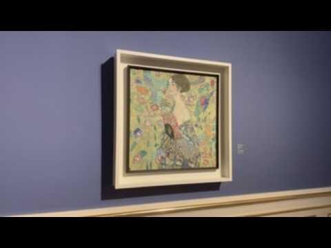 Gustav Klimt exhibition in Vienna