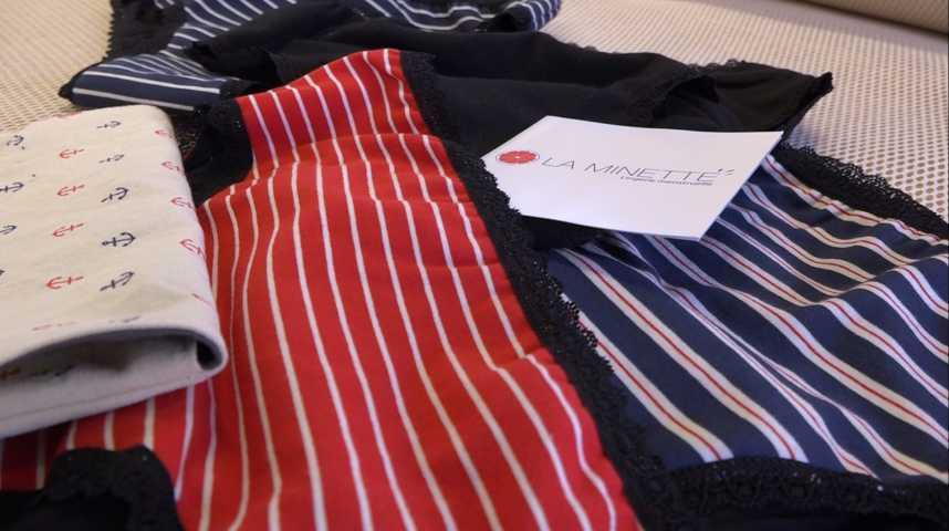 Thumbnail La Minette, une culotte menstruelle 100% française créée par des Vannetais