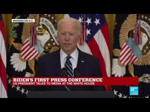 Biden announces goal of 200 mn vaccine doses in first 100 days