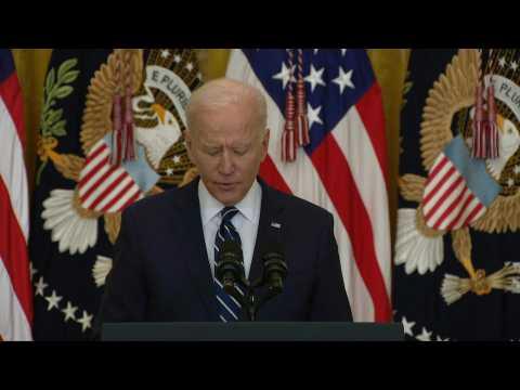 Biden announces goal of 200 mn vaccine doses in 100 days