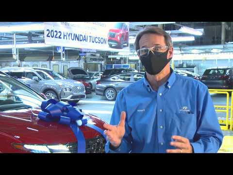2022 Hyundai Tucson Launch & Production - Robert Burns, Vice President of HR & Administration