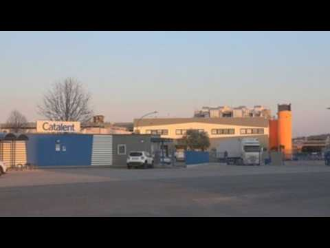 Footage of plant where AstraZeneca vaccines where discovered