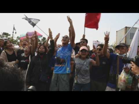 Thai protesters stage another rally demanding reforms, release of jailed protest leaders