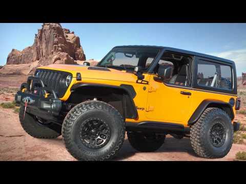 Jeep Orange Peelz Concept Review