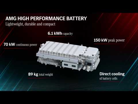 Mercedes-AMG defines the future of Driving Performance - AMG High Performance Battery