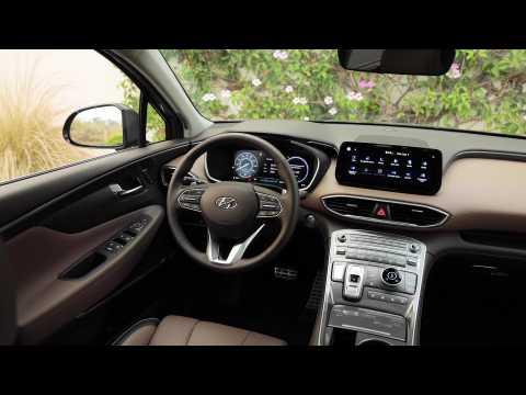 2021 Hyundai Santa Fe Hybrid Interior Design
