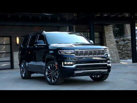 2022 Jeep Grand Wagoneer Design preview
