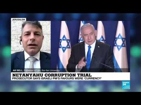 Netanyahu corruption trial: Prosecutor says Israeli PM's favours were 'currency'