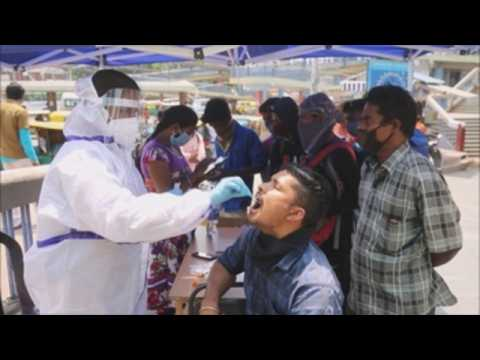 India records highest single-day COVID-19 cases