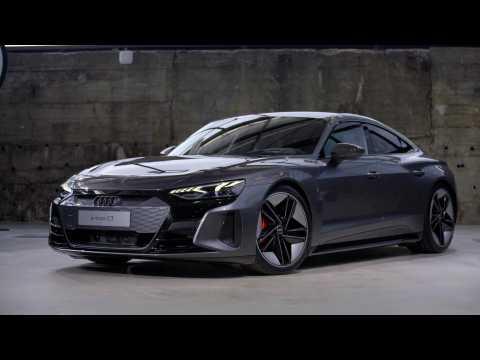 Audi e-tron GT experience - Audi RS e-tron GT Exterior Design in Studio